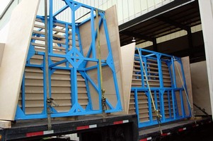 Gusseting Unit handles industrial and agricultural film.