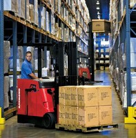 Lift Trucks are suited for warehouse and dock applications.