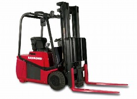 Electric Lift Truck offers 3,000-4,000 lb capacities.