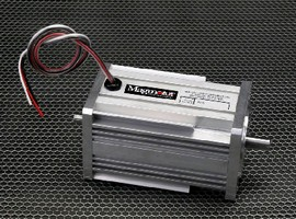 Brushless DC Motor produces peak torque of 690 oz-in.