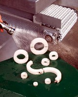 Plastic Shaft Collars feature stainless steel fasteners.