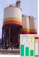 Software monitors silo weight through local network.