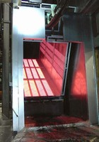 Electric IR Boost Oven utilizes fast-response heaters.