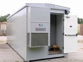 Equipment Shelters withstand diverse weather conditions.