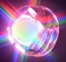 Sunlight-Visible RGB LEDs have high-brightness design.