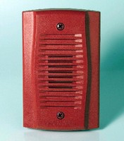 Mini Horns suit hotel, motel, or residential fire systems.