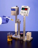 Laboratory Viscometer accurately tests small samples.