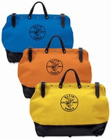 Colored Tool Bags help keep workers organized.