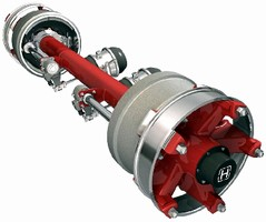 Chassis Axle serves intermodal applications.