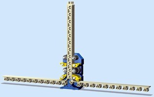 Rigid Chain incorporates non-magnetic actuator.