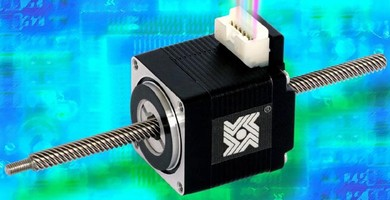 Hybrid Linear Actuator has integrated connector.