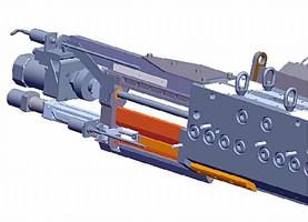 Motorized Dual Deckle automates width changes.
