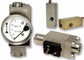 Set-Point Flowswitches come in adjustable and fixed models.