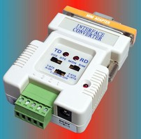 Interface Converters allow data transmission up to 4,000 ft.