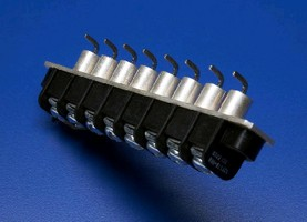 Terminal Blocks offer 90° lead bends.