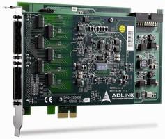 PCIe Analog Input DAQ Card has high-density architecture.