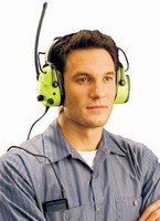 Radio Earmuff promotes worker safety and motivation.