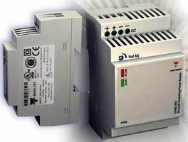 Switching Power Supplies feature low-profile design.