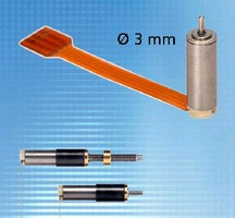 Brushless DC Motor provides cog-free motion.