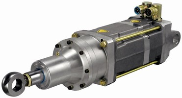 All-Electric Cylinders are suited for robotic spot-welding.