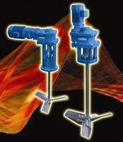 Top-Entering Agitators offer modular design package.