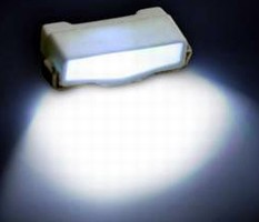 Right-Angle SMD LED produces bright white output.