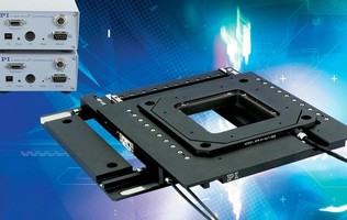 XY Open-Frame Piezomotor Stage features linear encoders.