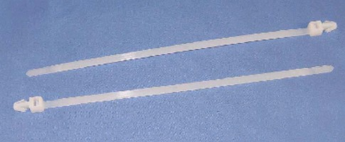 Cable Ties feature arrowhead mount.
