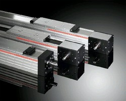 Rodless Actuators provide speeds to over 9 m/s.