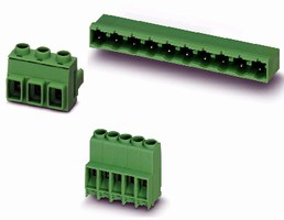 PCB Connectors suit high voltage applications.