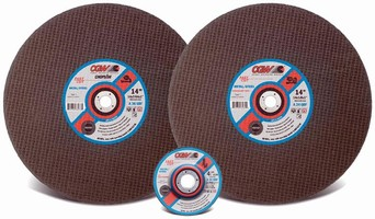 Cut-Off Wheels are made from aluminum oxide grain.