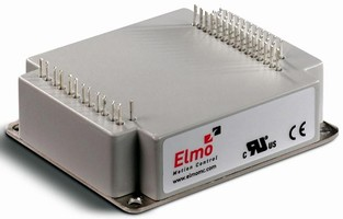 Miniature Servo Drives support up to 2,400 W.