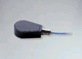 Mini Ceramic Shear Accelerometer operates from -75 to 180°C.