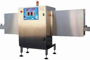 X-Ray Inspection System checks products in glass containers.