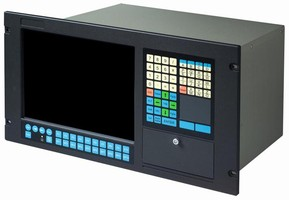 PC-Based Industrial Workstation has 12 in. color TFT LCD.