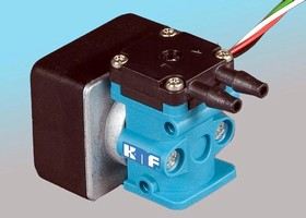 Micro Diaphragm Pump doses small quantities of liquids.