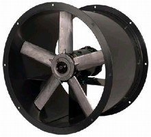 Tube Axial Fan offers direct drive capacity to 29,000 cfm.