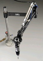 Torque Arm uses pneumatic cylinder to help move tools.