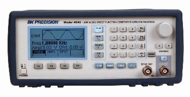 Sweep Function Generator offers sampling rates up to 20 Hz.