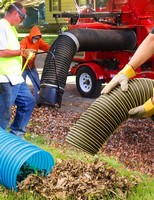 Lawn/Leaf Collection Hoses match OEM material requirements.