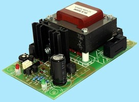 Battery Charger features open design for OEM integration.