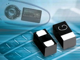 Tantalum Capacitors come in 0805 and 0603 molded packages.