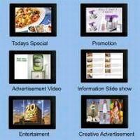 Digital Displays facilitate advertising and merchandising.