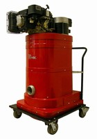 Gasoline Vacuum works in remote locations and outdoors.
