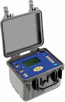 Micro-Ohmmeter also gives real-time temperature readings.