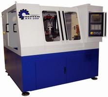 CNC Hob Sharpener accommodates large-capacity jobs.