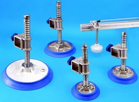 Vacuum Cups, Suspensions come in fully integrated packages.