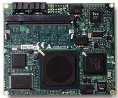 COM Module incorporates dual-port SATA controller.