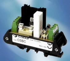 Interface Module provides battery/power supply protection.