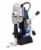 Portable Magnetic Drill features swivel base.